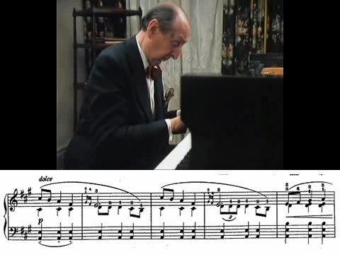 Chopin Mazurka Op.17 No.4 (Horowitz)