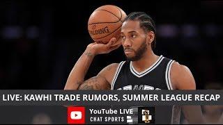 Kawhi Leonard Trade Rumors, Lakers Rumors, NBA Summer League All-Star Team