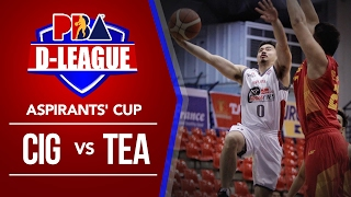 Cignal HD Hawkeyes vs  Team Batangas | PBA D League Aspirants' Cup 2017
