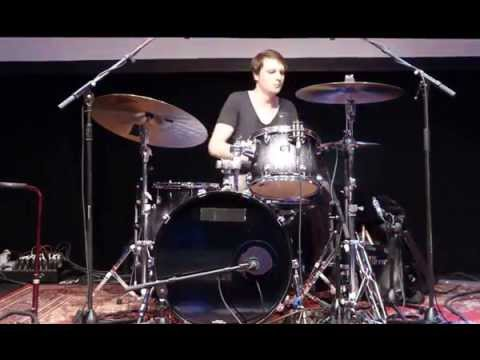 Moritz Müller Drumsolo   bei der 1st class session in Lüneburg 16.05.14