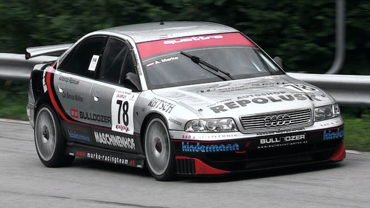 audi a4 b5 stw in action on hillclimb with its lovely. Black Bedroom Furniture Sets. Home Design Ideas