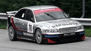 audi a4 b5 stw in action on hillclimb with its lovely intake sound