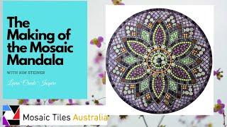 Mosaic Mandala Kit Easy Beginner