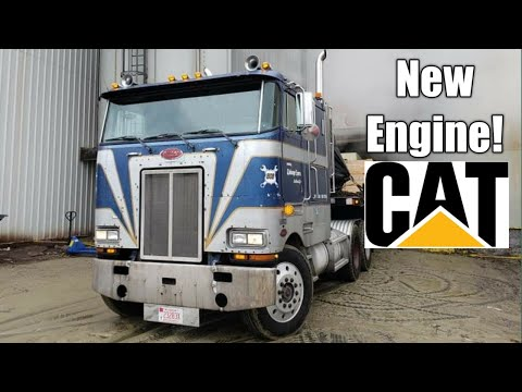 3406B Caterpillar Engine's First Load