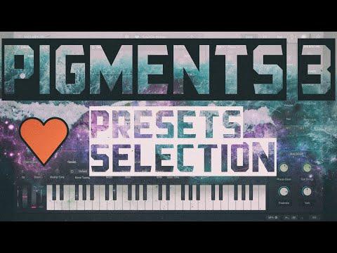 Arturia Pigments 3  ❤️ presets selection [Factory Sound Bank - Sons Usine]