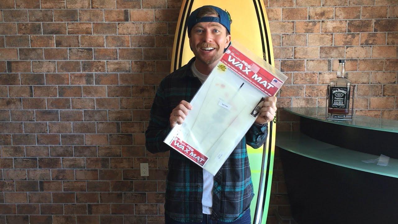 Surfco HAWAIIAN HOTGRIP WAX MAT 90 LONGBOARD