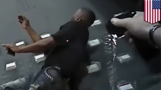 Tashi Farmer  body cam shows innocent unarmed black man tased and choked to death by cop   TomoNews