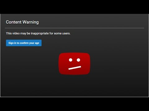 How to Bypass Age Restriction on YouTube Videos