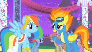 Rainbow Dash - Rainbow Dash Rescues Soarin's Big Apple Pie. (full Scene)