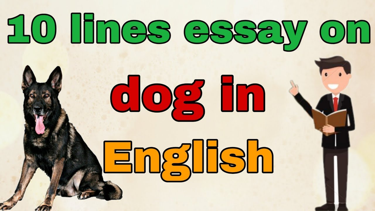 Essays on dogs