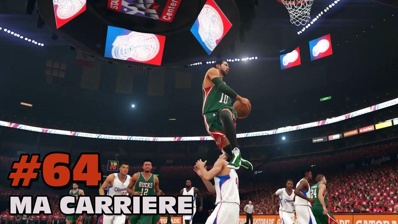 NBA 2K15 : Ma carrière - Playoffs Finale Match 3 - YouTube