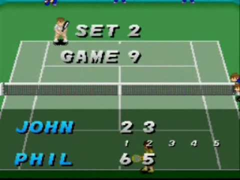 SNESOT Super Tennis Online Tour - Gabriel West vs McMannus - QF AO 2013 Part 1/2