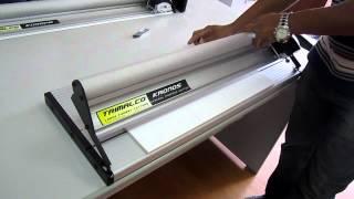 Trimalco Kronos cutting Foamboard 5mm