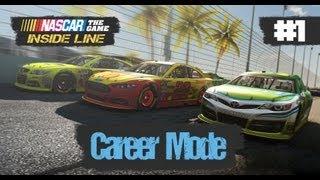 NASCAR The Game 2013: Career Mode Walkthrough Part 1 - Daytona 500 (PC)