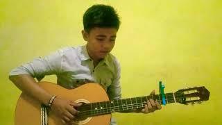 Gambar cover mirip nathan fingerstyle lagu deen as- salam - joshua juniorstyle