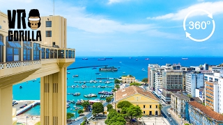 Gambar cover Discover Salvador Da Bahia In A Guided City Tour (360 VR Video)