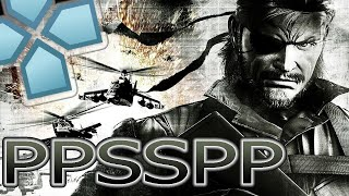 Metal Gear Solid: Peace Walker - PPSSPP Best Settings (PC, Android, IOS) + [ Download Links ]