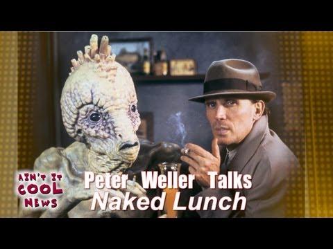 "Peter Weller Talks ""Naked Lunch"""