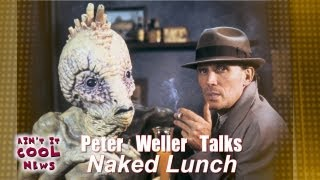 "Peter Weller Talks ""Naked Lunch"""
