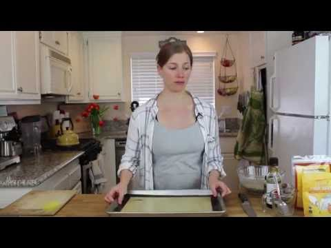 Chia Flax Sesame Seed Crackers  - Vegan & Gluten Free