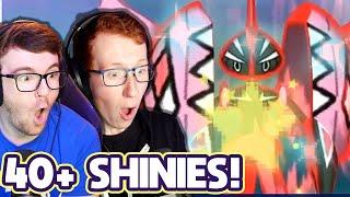 OVER 40 SHINIES! - INSANE Custom Pokemon Shiny Reaction Montage!