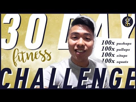 Starting My 30 Day 100x Fitness Challenge