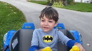 Zack Pretend Power Wheels Ride On Car for kids Save The Day!