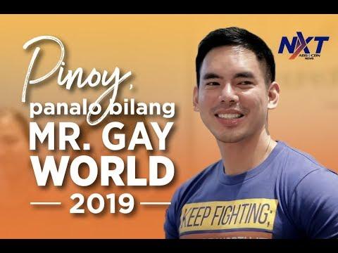 Pinoy, Panalo Bilang Mr. Gay World 2019