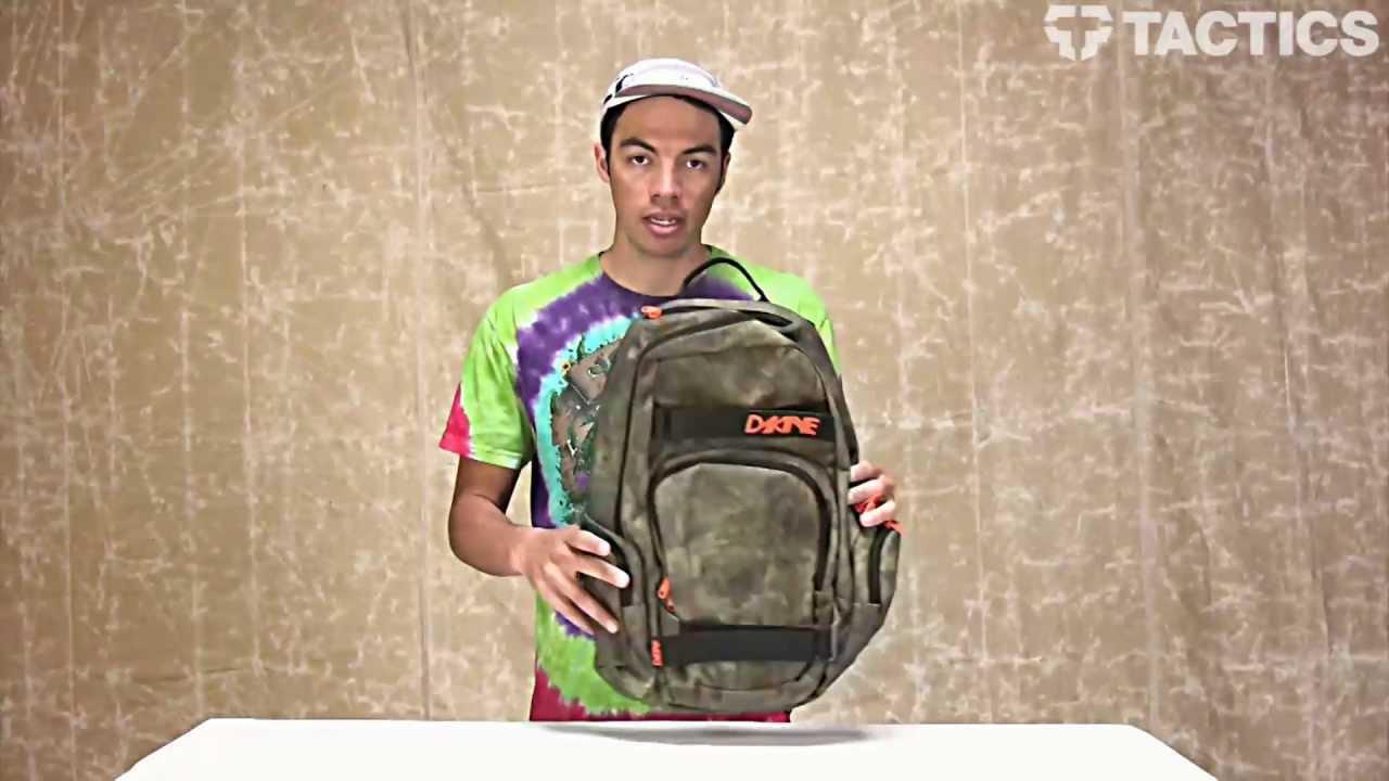 Dakine Atlas Backpack Review - Tactics.com - YouTube