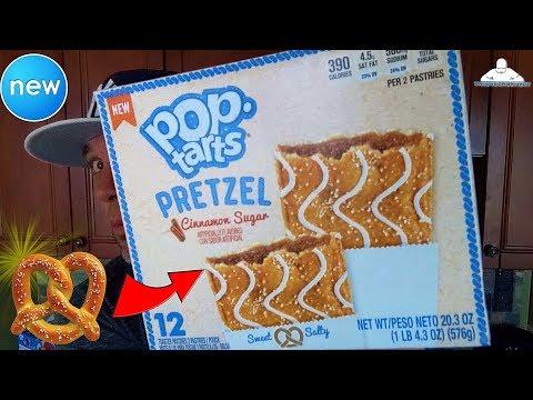 Pop-Tarts® Pretzel Cinnamon Sugar Review! 🥐🥨😍 | Pop-Tarts® Day!