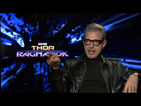 "Thor: Ragnarok || Jeff Goldblum - ""Grandmaster"" Generic Interview 