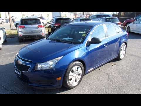*SOLD* 2012 Chevrolet Cruze LS Walkaround, Start Up, Tour And Overview