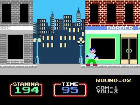 [TAS] NES Urban Champion by klmz in 00:26.84