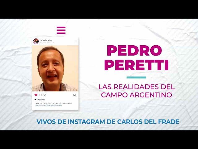 Carlos Fel Frade con Pedro Peretti sobre las realidades del campo argentino