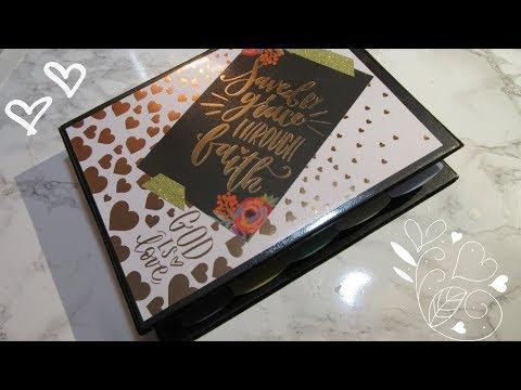 DIY Prayer Journal Series: Video 1 Half Binder Setup