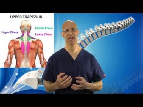 3 Part Exercise to REMOVE Tight Trapezius Muscle in Neck (Neck Pain & Pinched Nerve) - Dr Mandell