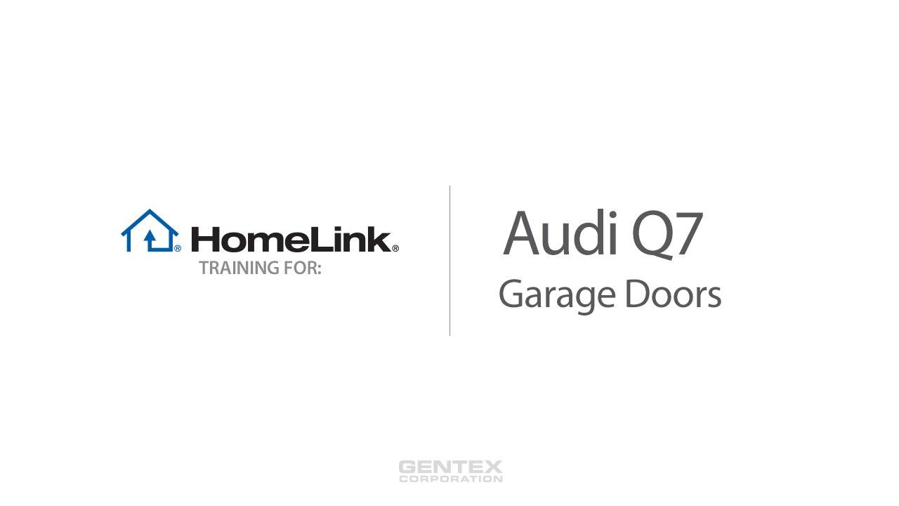 Audi q7 homelink