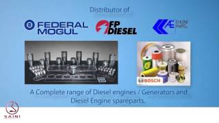 Diesel Engine and Heavy Construction Equipments Parts