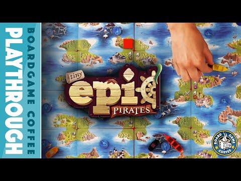 Tiny Epic Pirates Playthrough