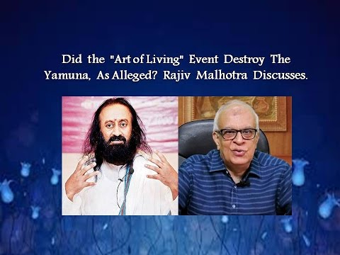 """Did the """"Art of Living"""" Event Destroy The Yamuna, as Alleged?"""