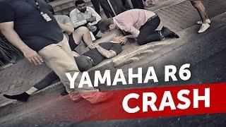 yamaha r6 crash fatal accident vlog