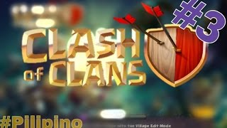 "[3] Clash of Clans | Attack Mode | Noo! lost again | ""Tagalog"" 