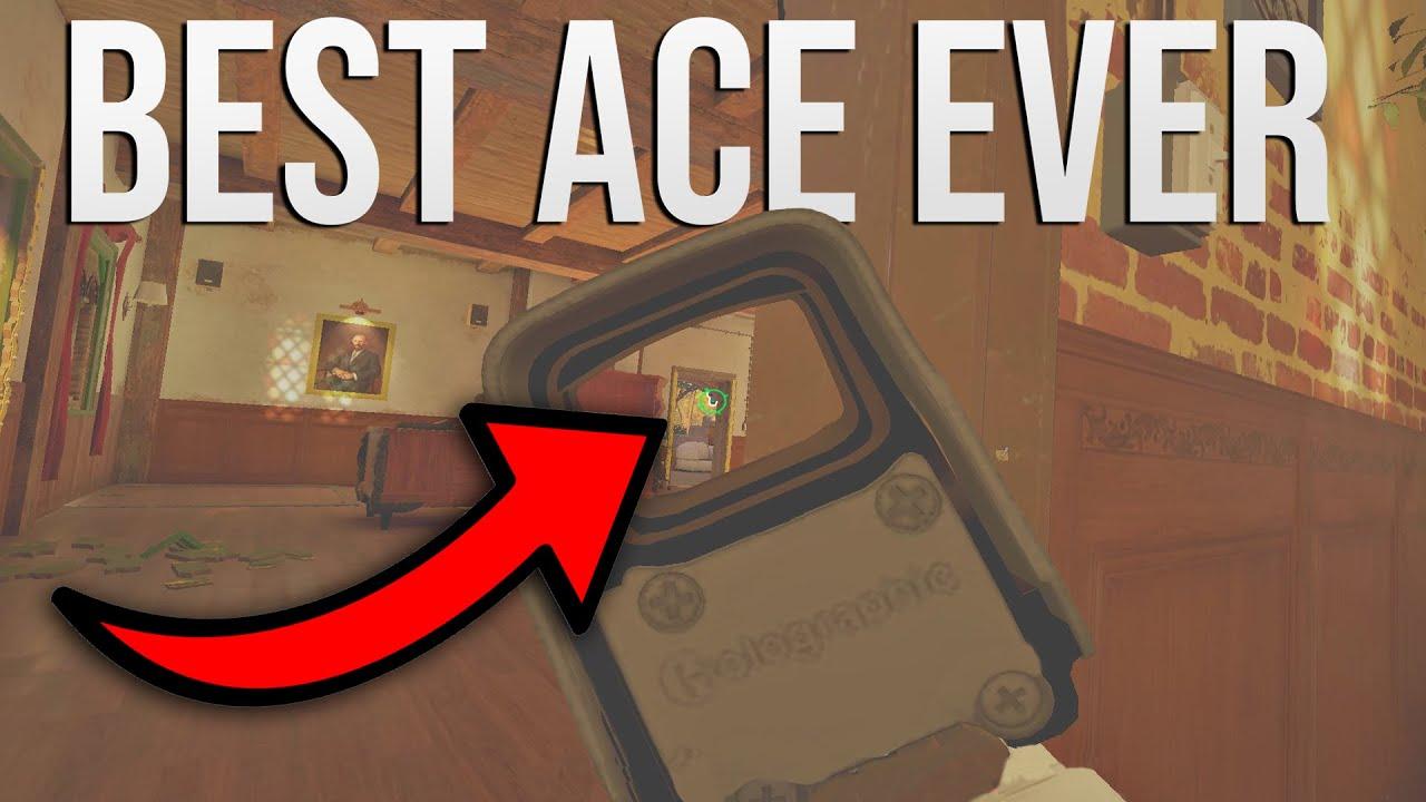 The Best Smoke Ace in Rainbow Six Siege