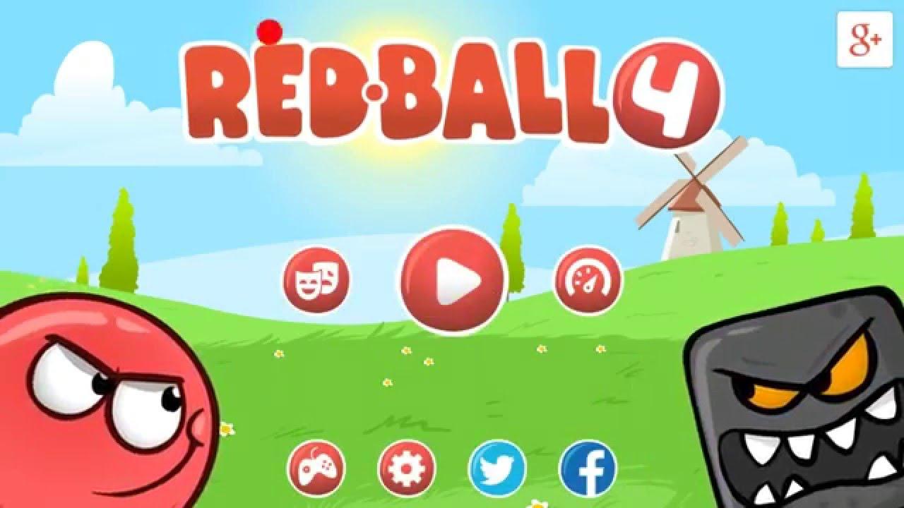 ¡La bola roja! | Red ball 4 - YouTube