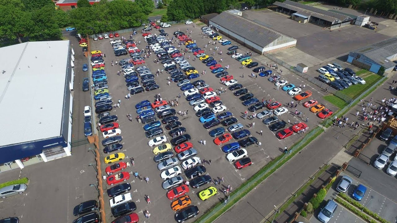 Porsche Centre Colchester Cars & Coffee May '17 - YouTube
