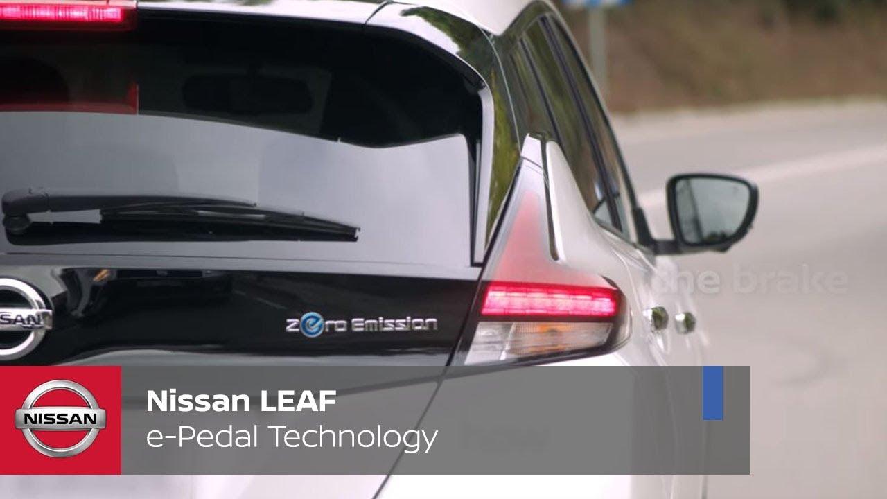 nissan leaf e pedal technology youtube. Black Bedroom Furniture Sets. Home Design Ideas