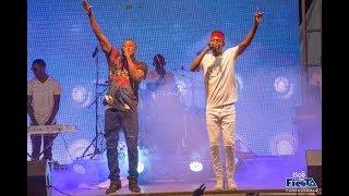 """Suprise: Dudu Baya Alivyopanda Kwenye Jukwaa la Tigo Fiesta Kuimba """"Live"""" na Ben Pol"""