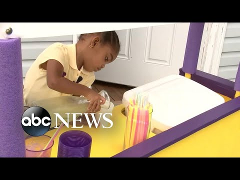 The Sports Feed - #GoodNews: Toddler's Lemonade Stand Benefits Babies In Need