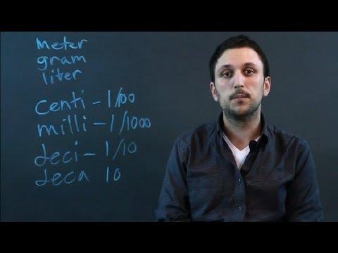 Tricks to Memorizing SI Prefixes : Math Conversions