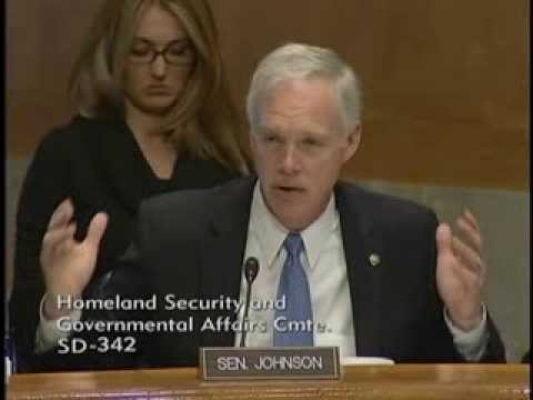 Senator Johnson at the Homeland Security and Governmental Affairs Committee Part 2